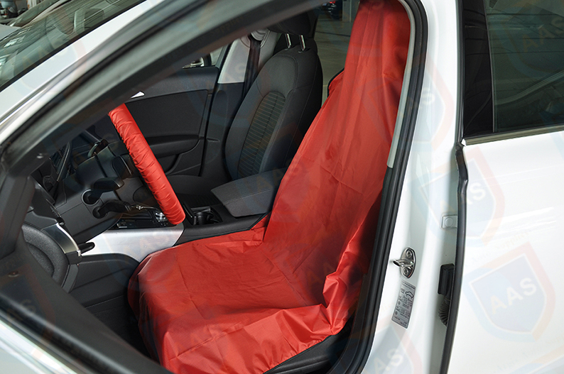 waterproof seat cover red