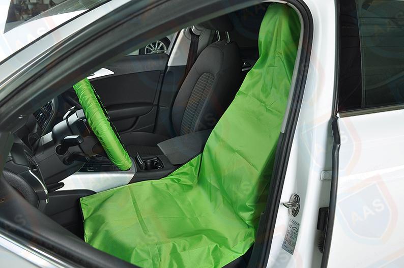 waterproof seat cover green