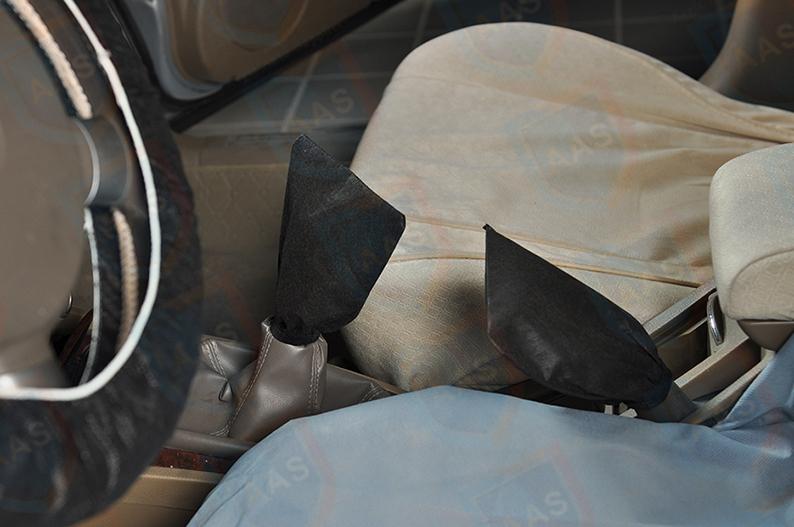 non-woven hand brake cover